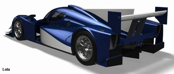 2011 Lola LMP2 coupe