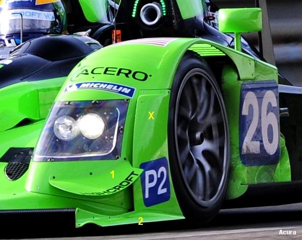 Acura ARX-01c, Le Mans 2010