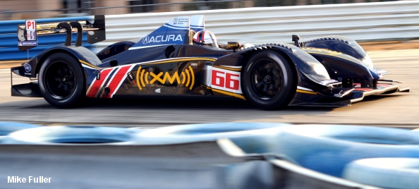 Acura ARX-02a, Wheels Down Winter Test, January 2009