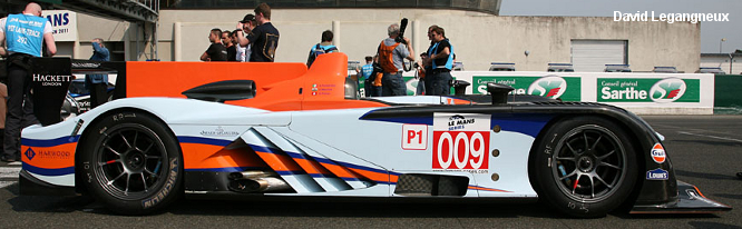 Aston Martin AMR-One, Le Mans test 2011