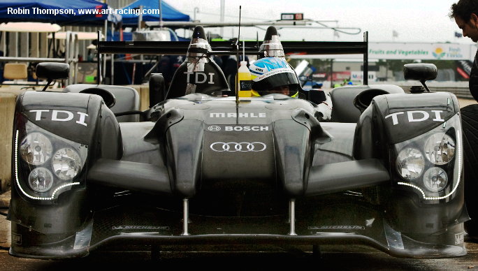 Audi R15 plus, Sebring testing 2010