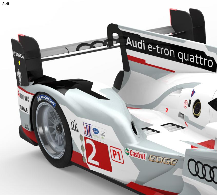 2013 Audi R18 E-tron Quattro