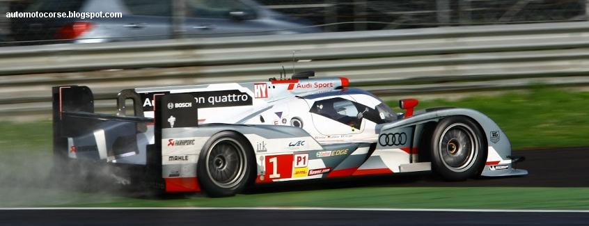 Audi R18 LM, Monza testing April 2013