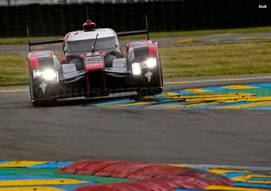Audi R18, Le Mans Test 2016