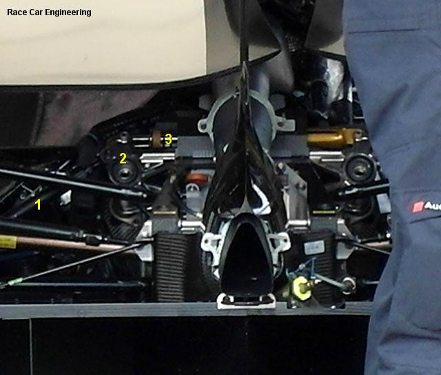 Audi R18, Le Mans test 2011
