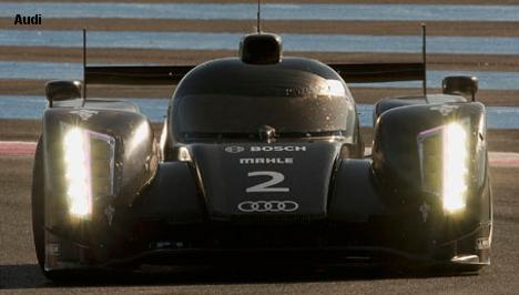 Audi R18, Paul Ricard Test, December 2011