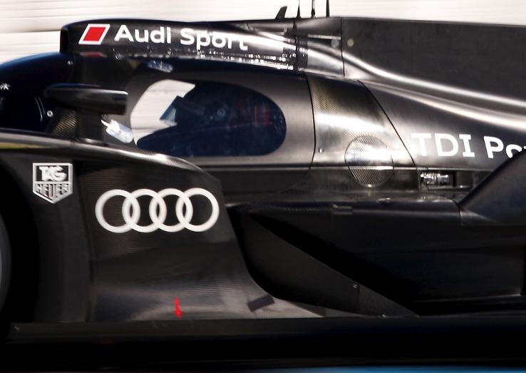 Audi R18, Sebring Test, January 2011