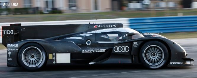 Audi R18 testing, Sebring, March 2011