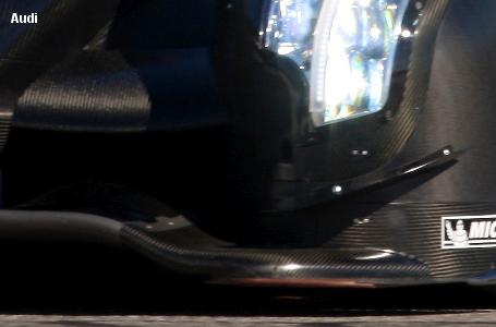 Audi R18, Sebring testing March 2011