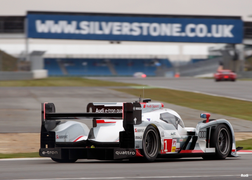 Audi R18, Silverstone WEC, 2013