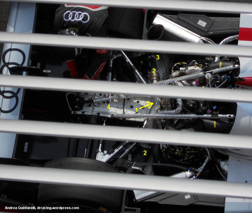 Audi R18, Spa WEC 2013