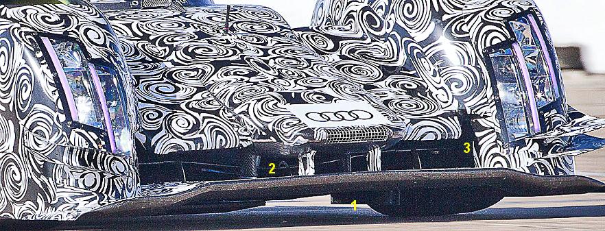 Audi R18 e-tron quattro, 2014