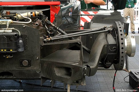 The front torsion bar suspension is evident in this image.