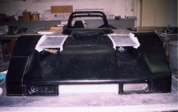 Mazda-Kudzu DLY buck for body work
