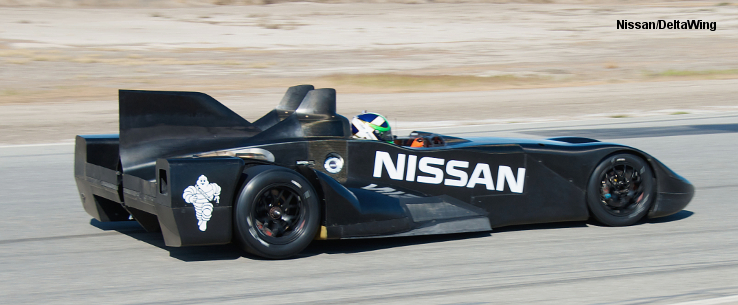 Nissan powered Delta Wing