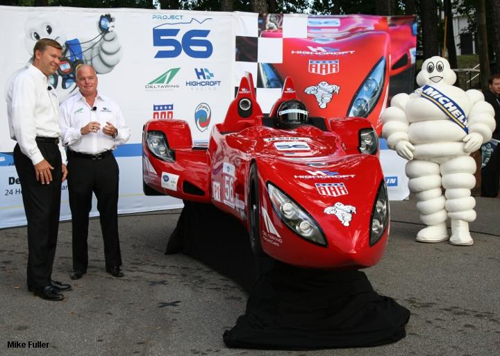 Delta Wing show car, Petit Le Mans 2011