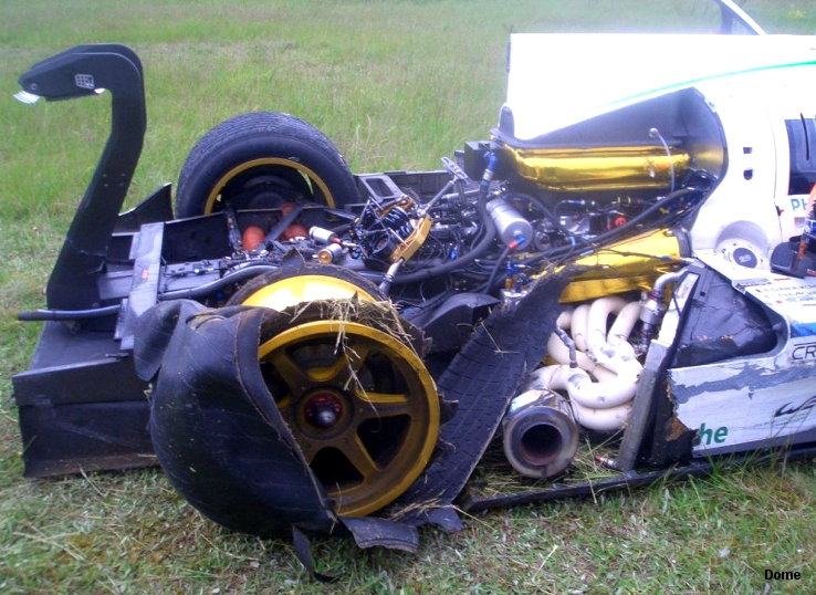 Dome-Judd S102.5 Ch�teauroux crash May 2012