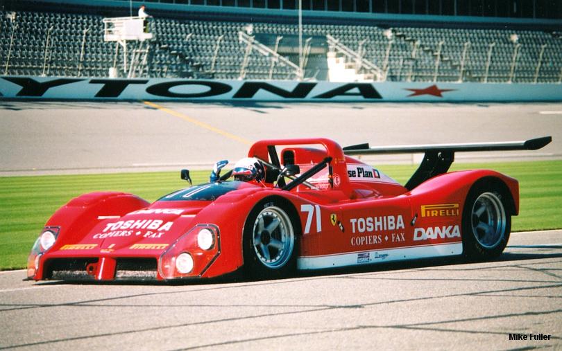Ferrari 333 SP, Daytona Test 1998