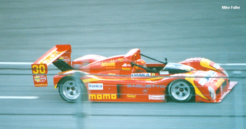 Daytona testing, December 1994