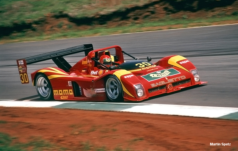 Road Atlanta Ferrari 333SP debut, April 1994