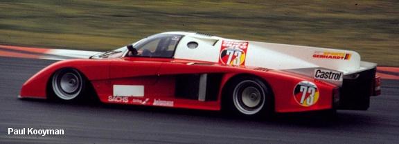 Gebhardt Ford JC853, Nurburgring 1986