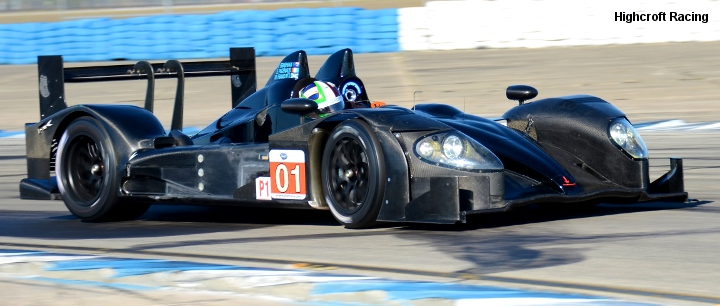 HPD ARX-01e, Sebring shakedown March 2011