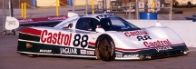 Jaguar XJR-9, Daytona testing 1987, Lee Self