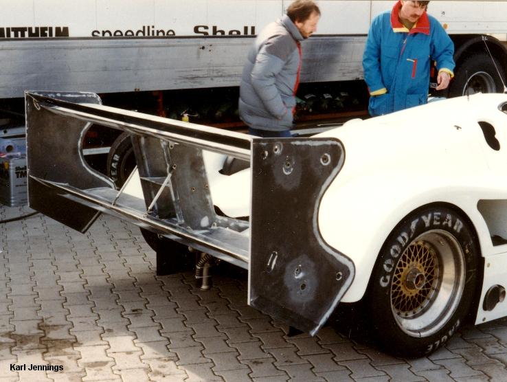 Hockenheim 191, Joest Porsche 962C