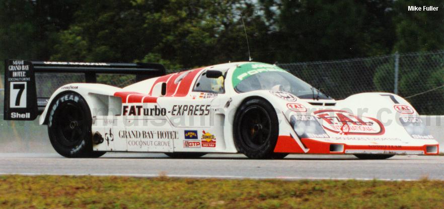 Joest Porsche 962C, Sebring 1993