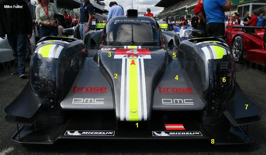 Kolles CLM P1/01, Le Mans Test 2015