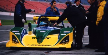 Knorad Lola B98/10, Daytona Test Days 1999, Copyright Mike Fuller, 1999