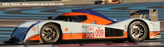 Lola Aston Martin, Paul Ricard LMS test 2009