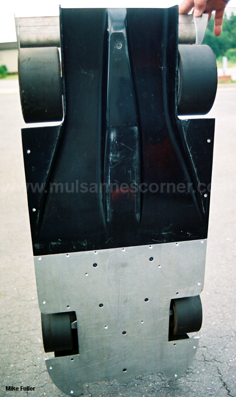 March 92S wind tunnel model