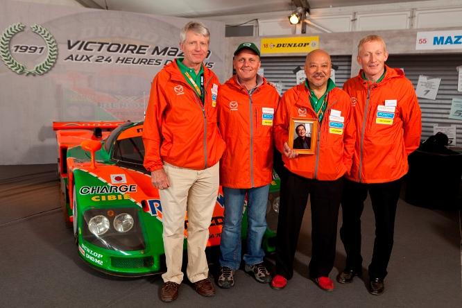 Mazda 787B, 20th Anniversary, Le Mans 2011