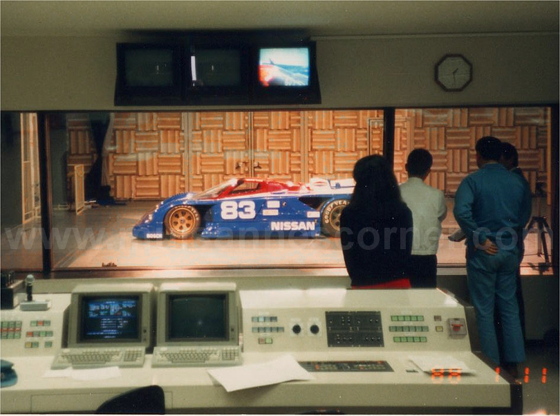 Nissan Technical Center Wind Tunnel, 1988