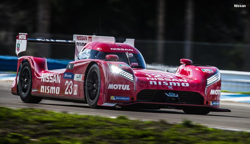 Nissan GT-R LM, Sebring test 2015