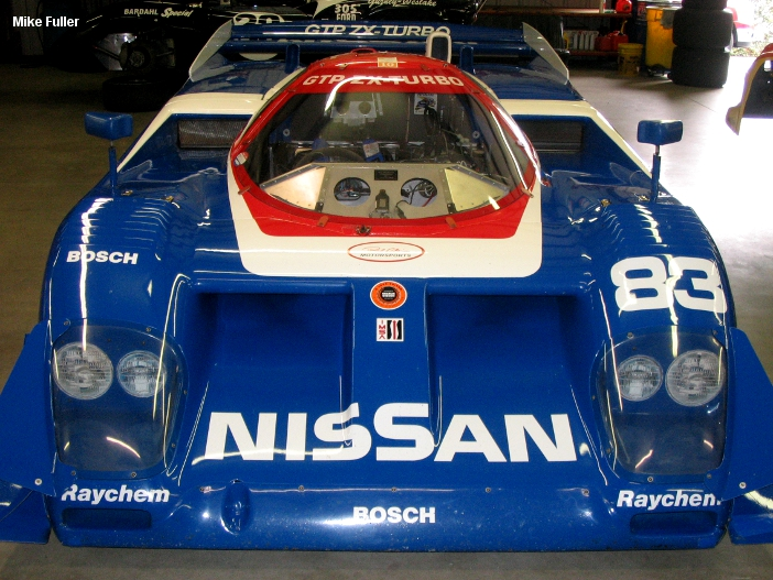 Nissan GTP ZXT, chassis No. 8805 owned by Toby Bean