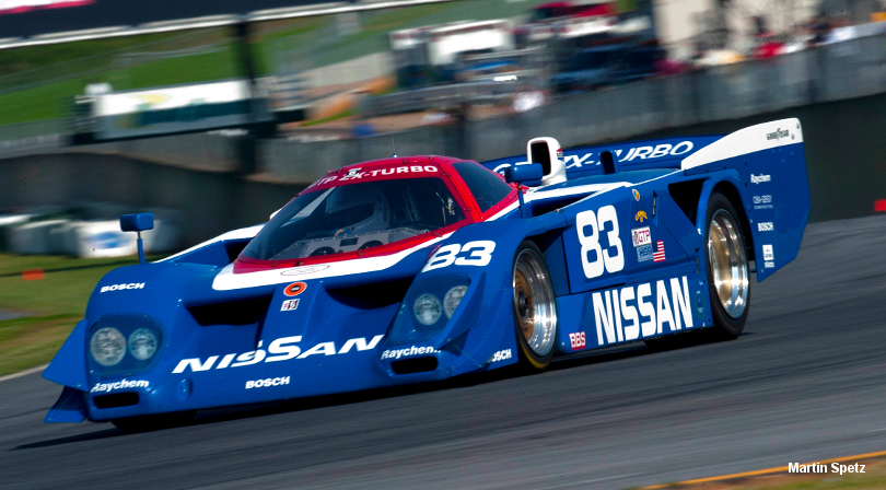 Nissan GTP ZX-T, Chassis #8805, Mitty HSR, Road Atlanta 2008