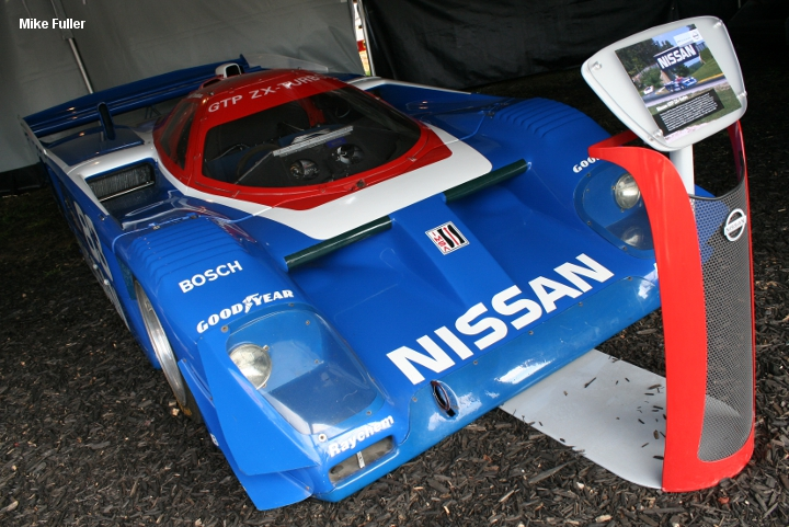 Nissan GTP ZX-T, chassis #8801, Petit 2011
