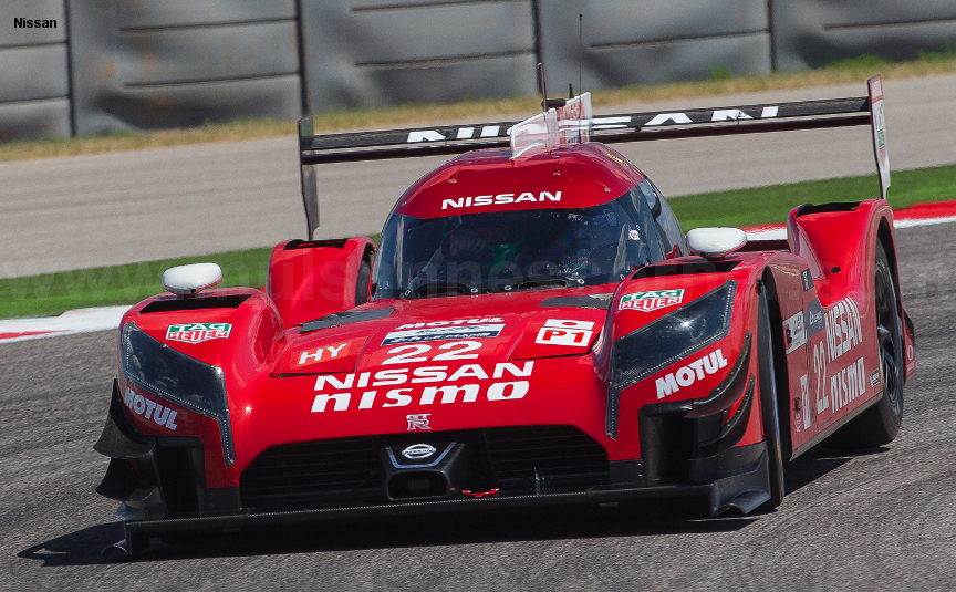 Nissan GTR-LM, COTA test, September 2015
