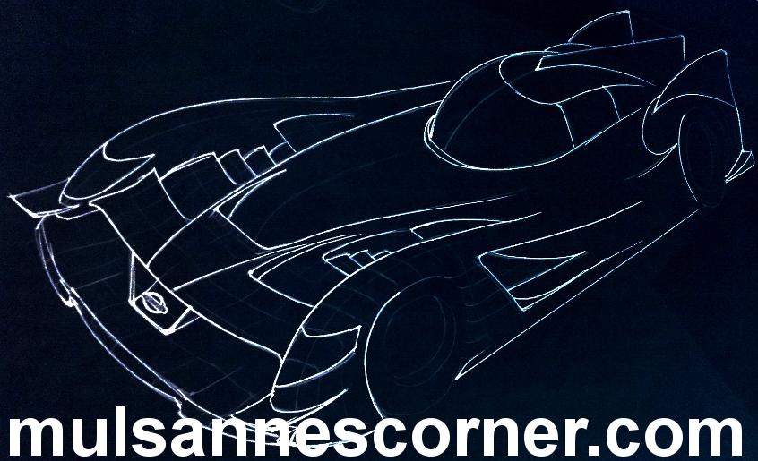 Nissan GT-R LM concept, copyright Michael J Fuller