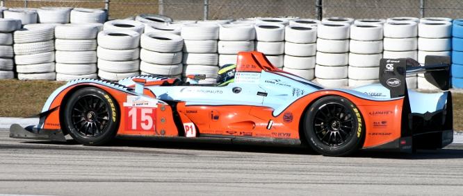 Oak Racing Pescarolo 01 Evo, Sebring testing December 2011