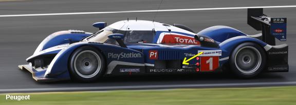 Peugeot 908, Le Mans 2010