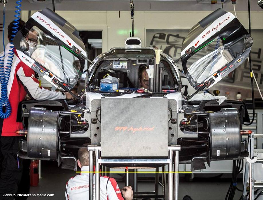 Porsche 919 Hybrid, Le Mans 2014