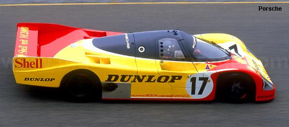 Porsche 962 C LH, Le Mans 1988
