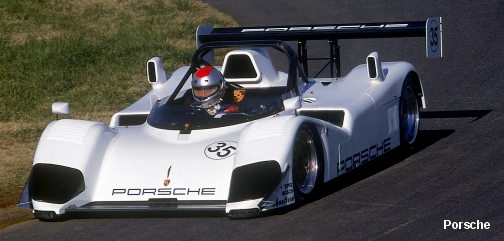 TWR-Porsche WSC-95, early testing