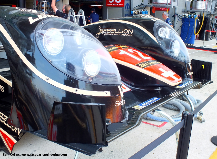 Rebellion Lola-Toyota LMP1, Le Mans Test 2013, image copyright Sam Collins, www.racecar-engineering.com