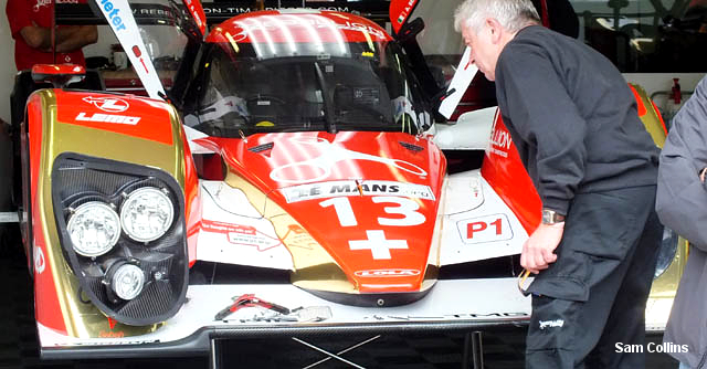 Rebellion Lola Toyota, Le Mans 2011