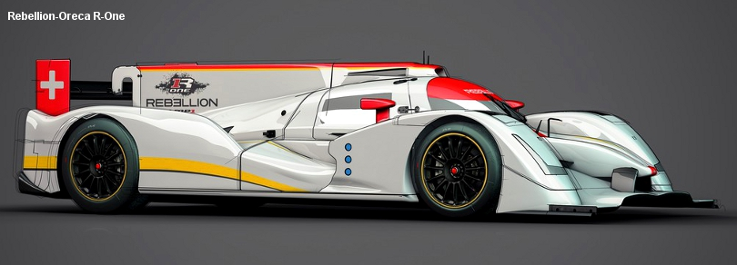 2014 Oreca designed Rebellion R-One