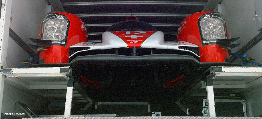 Rebellion R-One, Le Mans paddock 2014